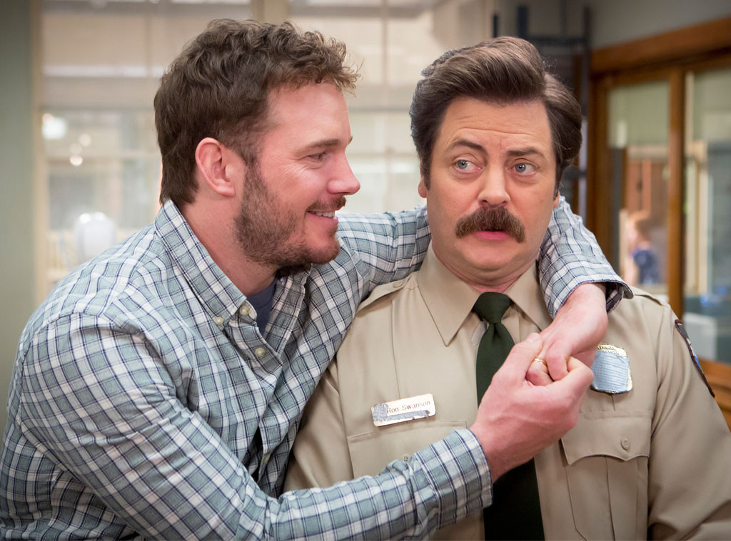 Chris Pratt, Nick Offerman